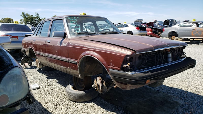 Junkyard Gem: 1982 Toyota Cressida