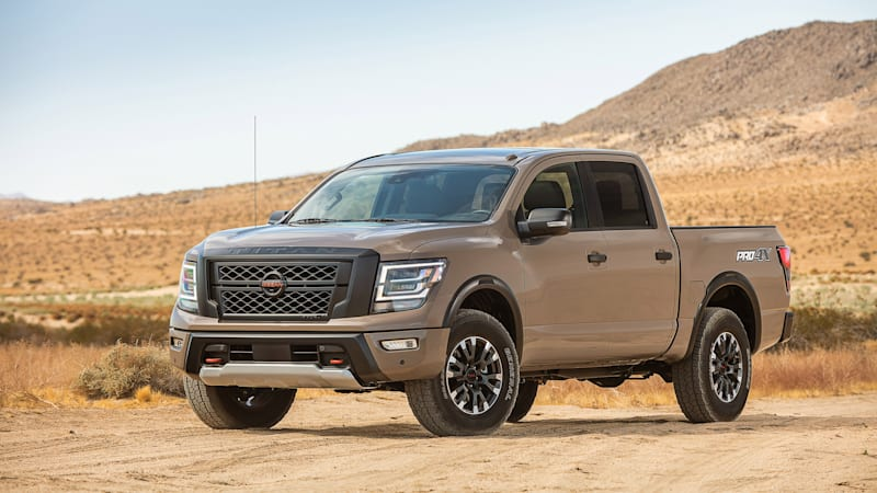 Refreshed 2020 Nissan Titan Debuts With 400hp V8 New Looks