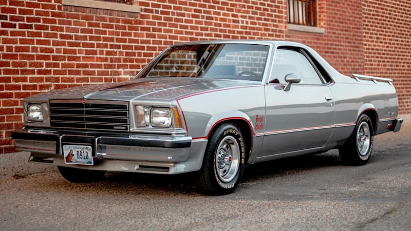 Feast your eyes on this perfect 1979 Chevy El Camino Royal Knight