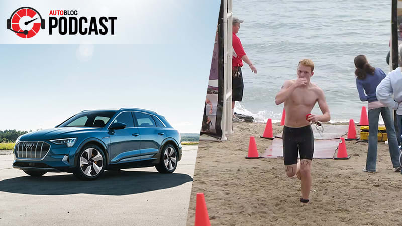 Driving the Audi E-Tron and training like an F1 driver | Autoblog Podcast #597