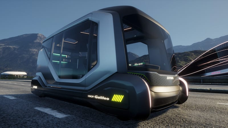 Hymer's motorhome of the future roams the land as you relax, eat and sleep