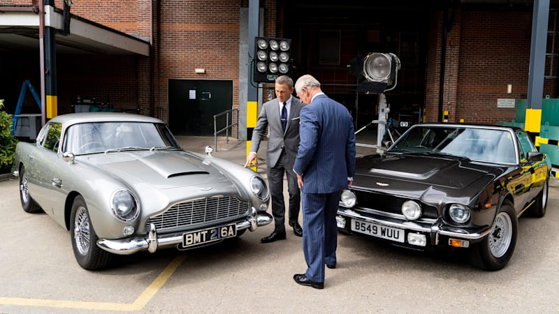 Bond No Time To Die To Feature Four Aston Martins Two Old