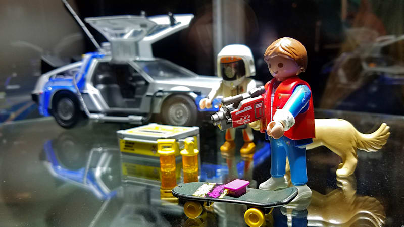 Playmobil unveils 'Back to the Future' playset at New York Comic-Con