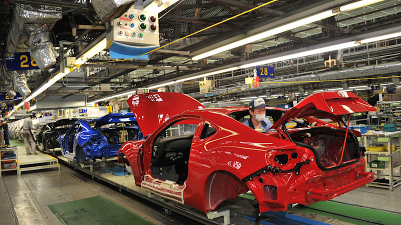 Subaru puts Japanese production on pause in the wake of deadly typhoon