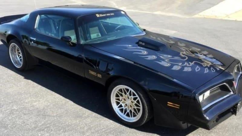Burt Reynolds Pontiac Trans Am Part Of A Big U S Marshals Auction Autoblog