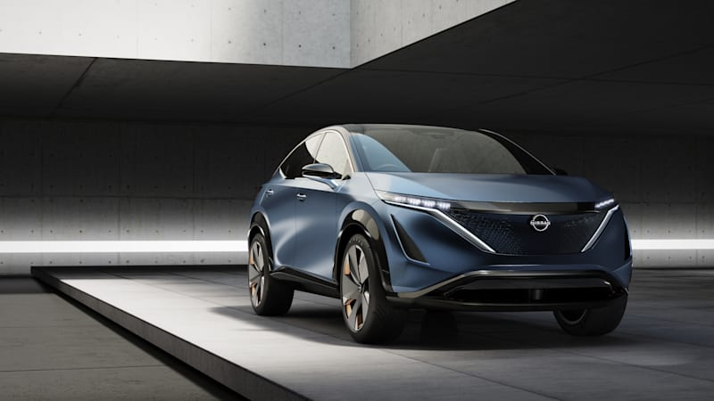 Nissan Ariya-inspired EV will be as fast or faster than a Z car