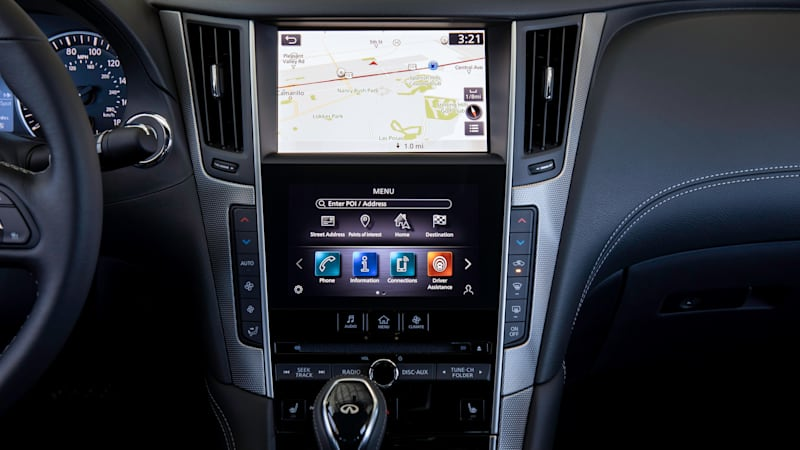 infiniti adds apple carplay and android auto for 2020 in update