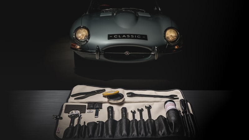 Jaguar re-releases the toolkit the E-Type came with when it was new