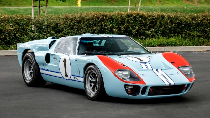 Ford Gt40 Replica For Sale >> Replica 1966 Ford Gt40 Driven In Ford V Ferrari To Be