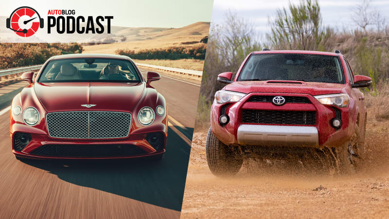 Bentley Continental GT V8 and Toyota 4Runner | Autoblog Podcast #604
