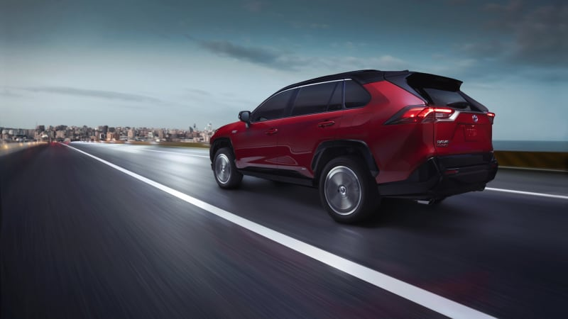 2021 Toyota RAV4 Prime comes in under $40K, with over 300 hp