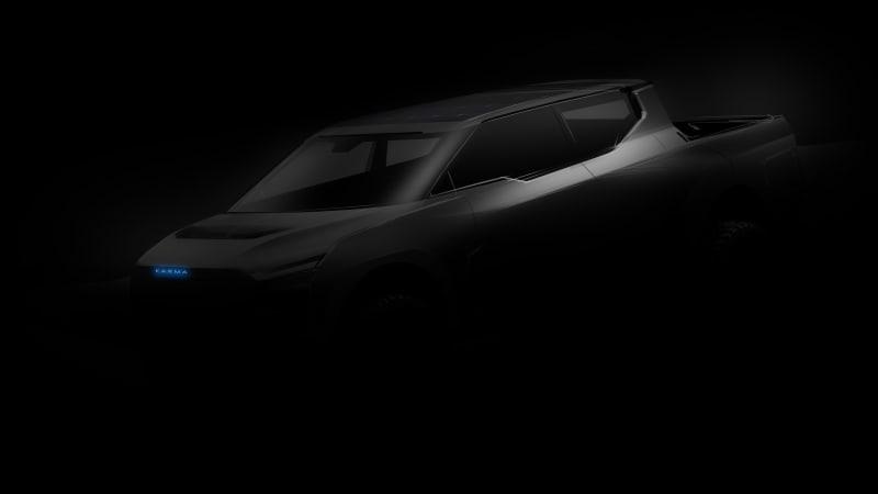 Karma teases range-extender EV pickup proof-of-concept