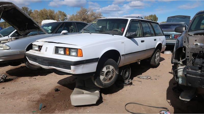 Junkyard Gem: 1987 Oldsmobile Firenza Cruiser station sagon