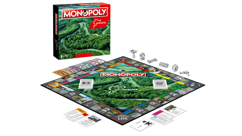 Give game night some gas with Nürburgring Monopoly
