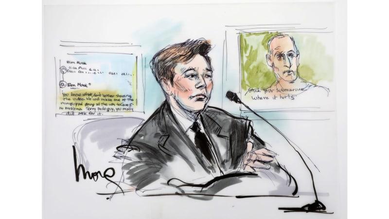 Jury says Elon Musk didn't defame British cave diver as 'pedo guy'