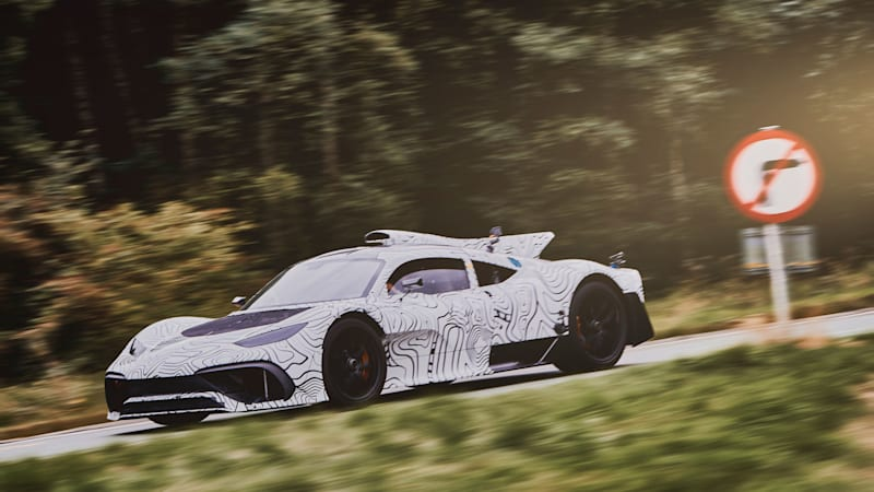 The Mercedes-AMG One sounds just like a Formula One car