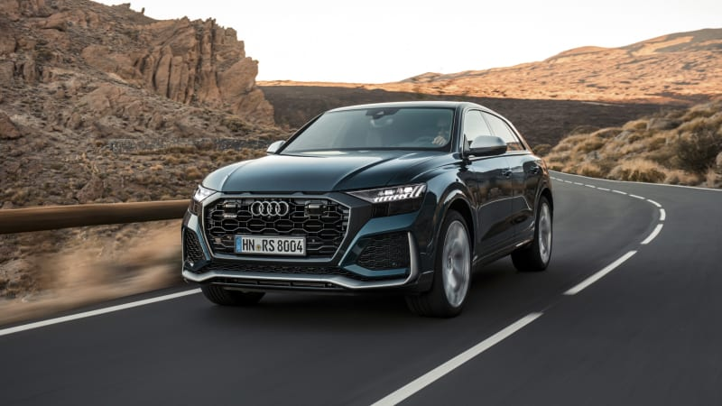 2020 Audi RS Q8 First Drive Review | Dancing bear
