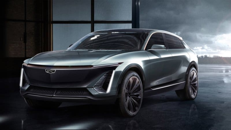 Cadillac electric crossover will be revealed in April