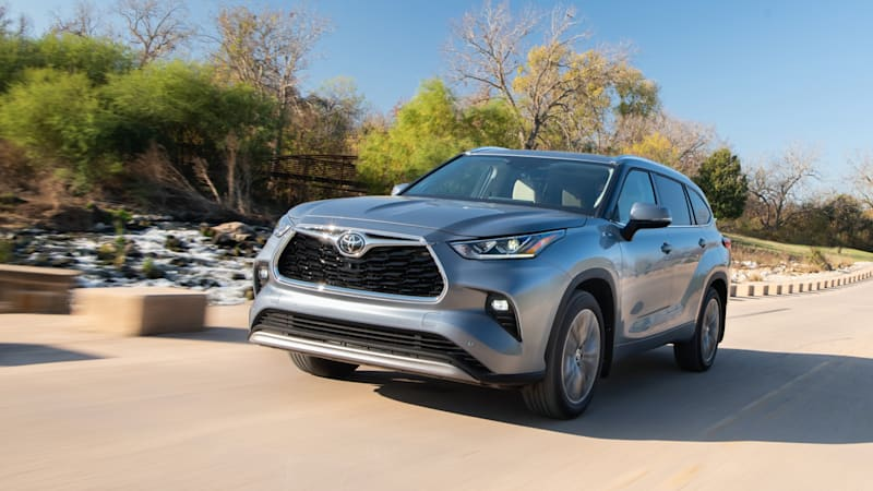 2020 Toyota Highlander gets Top Safety Pick award from IIHS