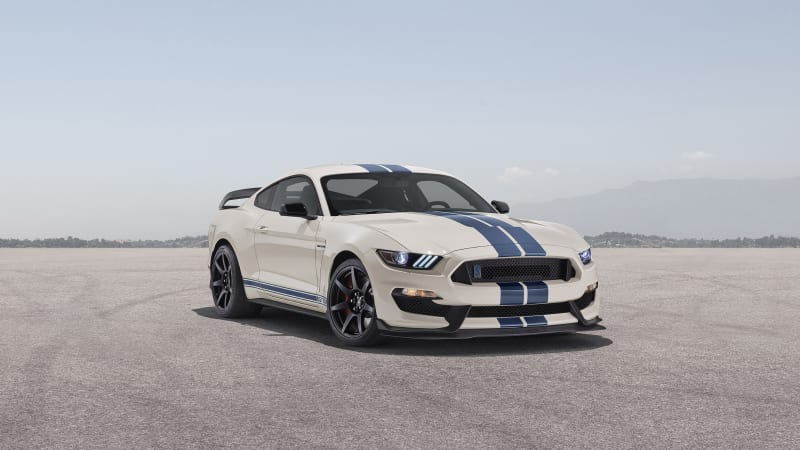 Ford Mustang Shelby GT350 Heritage Edition celebrates 55 years of fast Mustangs