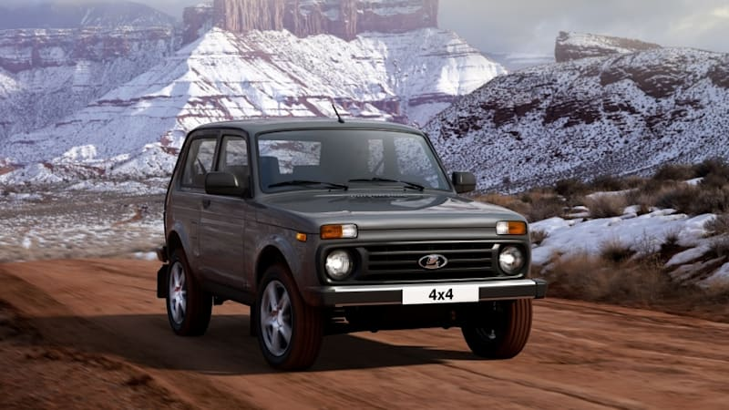 2020 Lada Niva Gets Improved Interior Autoblog