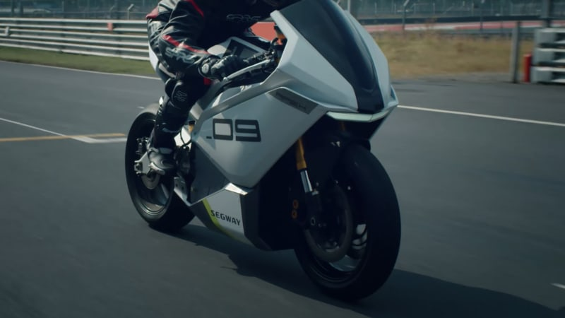 Segway is bringing an electric motorcycle to CES that does 0-60 mph in 2.9 seconds