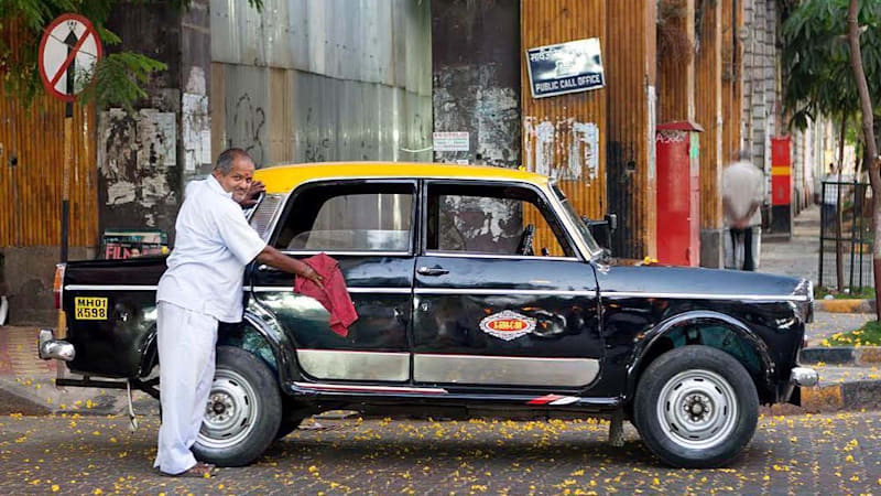 India's classic Premier Padmini taxi living out its last days