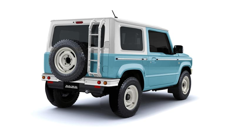 Body Kit Gives Suzuki Jimny Suv The Look Of A Vintage Ford Bronco Autoblog