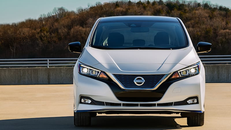 2020 nissan leaf comes with more safety and infotainment technology