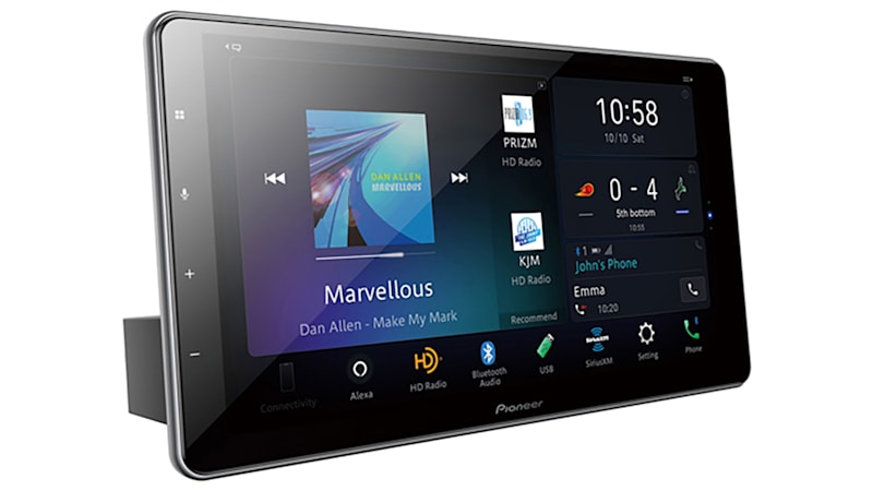 Pioneer debuts 10.1-inch car infotainment tablet with Amazon Alexa