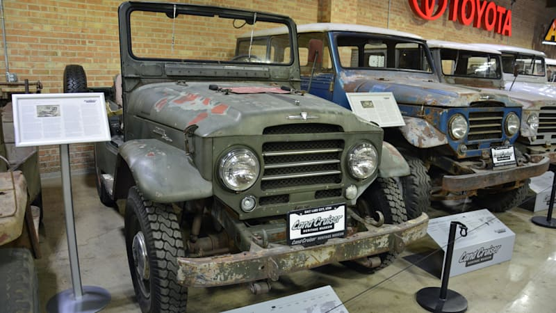 The first Toyota Land Cruiser sold in America is a star in this Utah museum