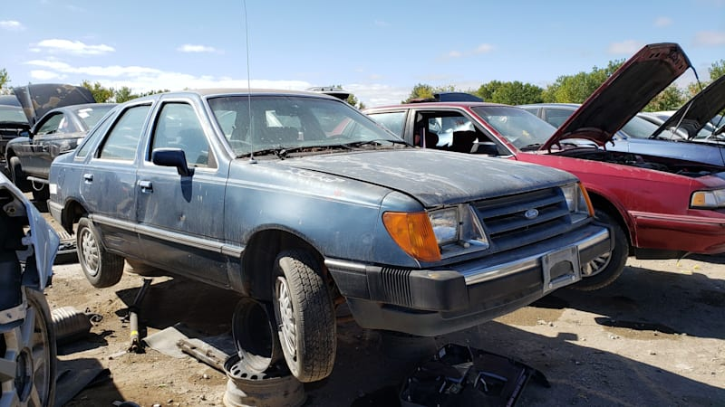 Junkyard Gem: 1985 Ford Tempo GL sedan