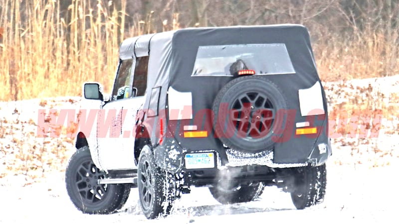 Analysis: 2021 Ford Bronco spy shots hint at the good stuff underneath