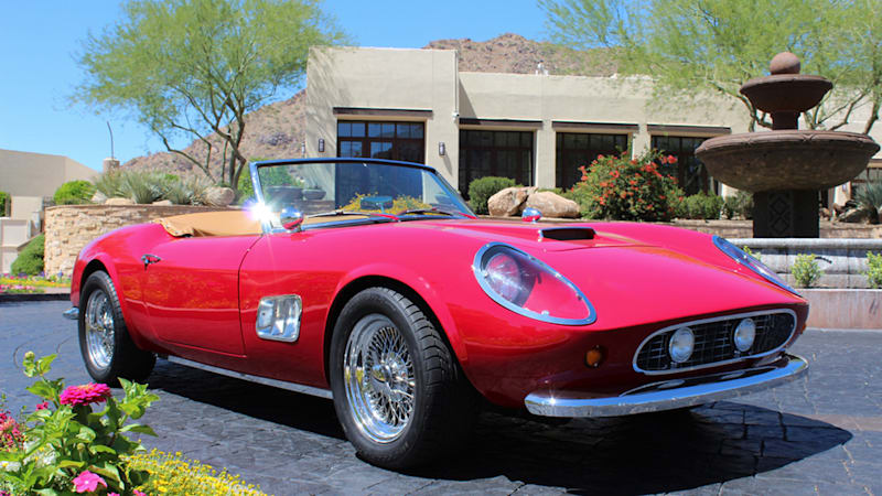 Ferris Bueller replica Ferrari 250 GT California heads to