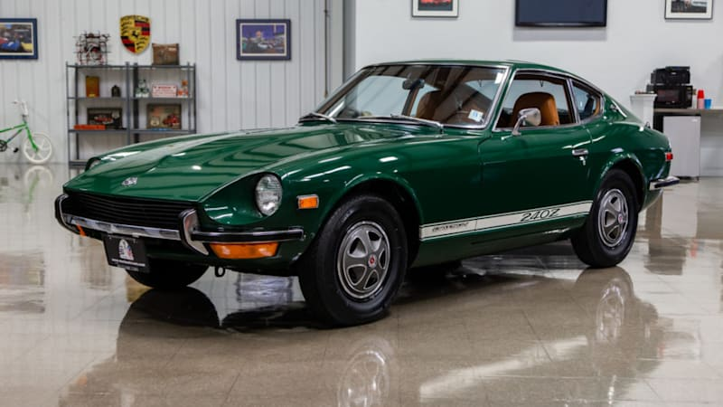 Grab this 1971 Datsun 240Z with 21k miles on Bring a Trailer
