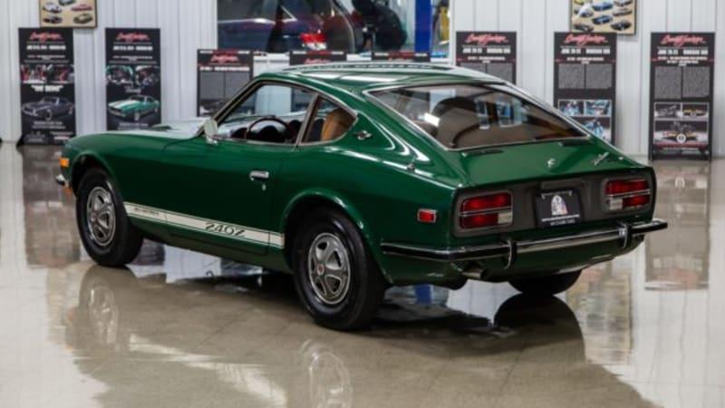 Unrestored, 21k-mile 1971 Datsun 240Z looks showroom fresh
