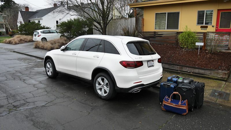 Mercedes Cars For Sale >> 2020 Mercedes Benz Glc Class Luggage Test Not That Compact