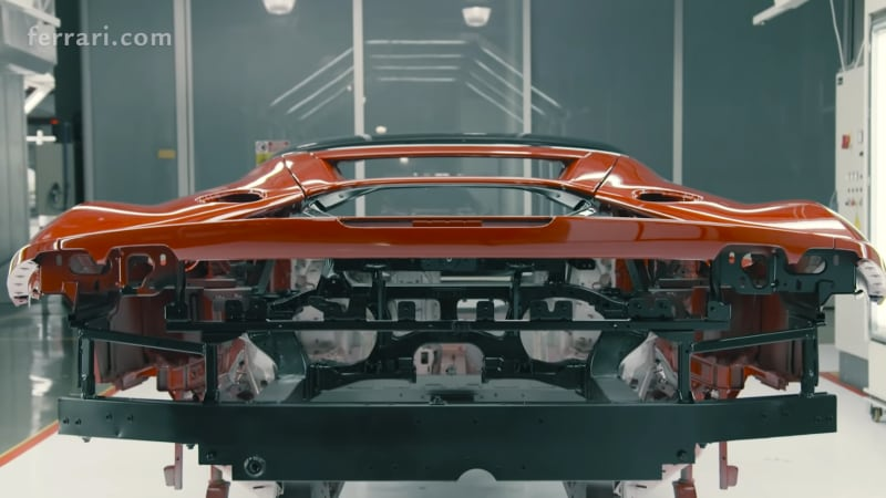 Ferrari SF90 Stradale shows how it was made in new video