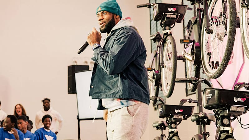 LeBron James and Lyft partner to launch bike initiative
