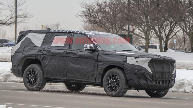 This could be the 3-row Jeep Grand Cherokee-based SUV