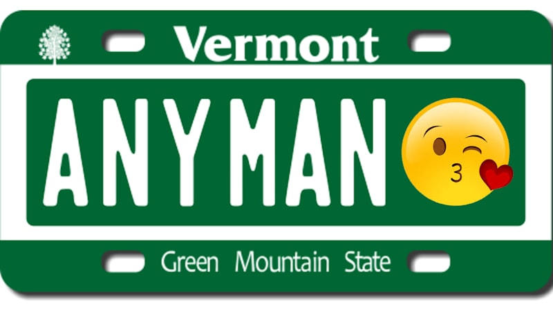 Vermont could allow motorists to put emojis on their license plates 🤦♂️