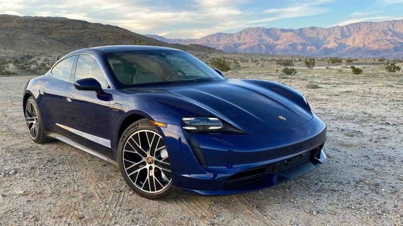 2020 Porsche Taycan Turbo Real World Range Test Electric Range Charging How Far Does It Go Autoblog