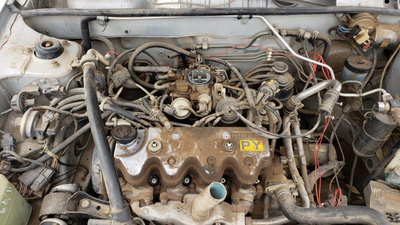 Junkyard Gem: 1986 Nissan Sentra two-door sedan