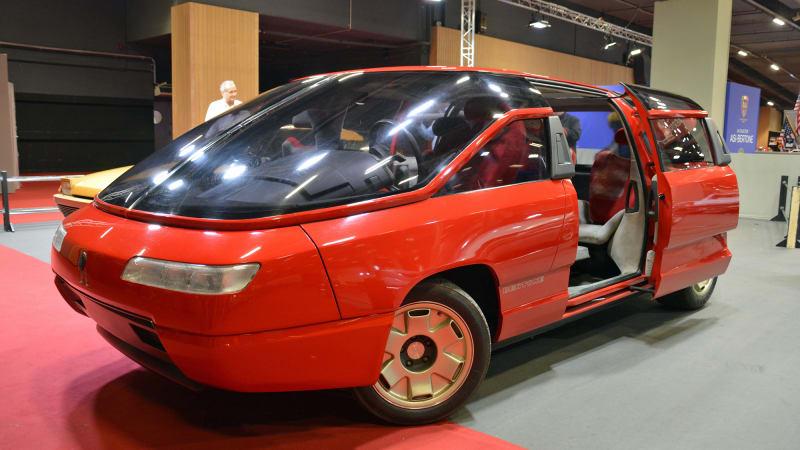 Lamborghini-powered Bertone Genesis concept shown at Retromobile 2020