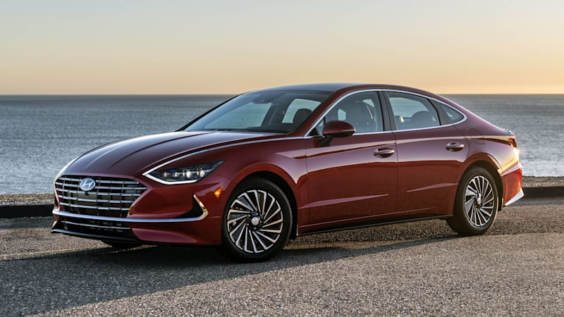 2020 Hyundai Sonata Hybrid to offer class-leading 52 mpg combined