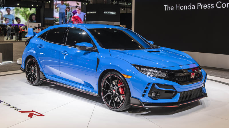 2020 Honda Civic Type R gets a performance upgrade: Here are the details |  Autoblog