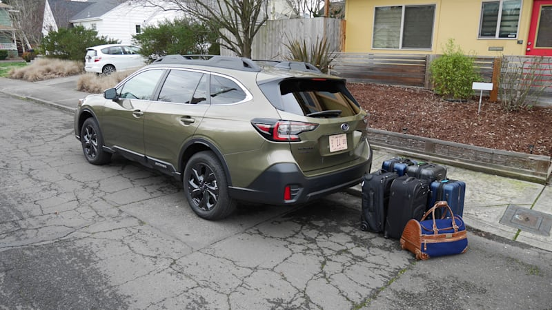 2020 Subaru Outback Cargo Space | How much luggage and gear fits?