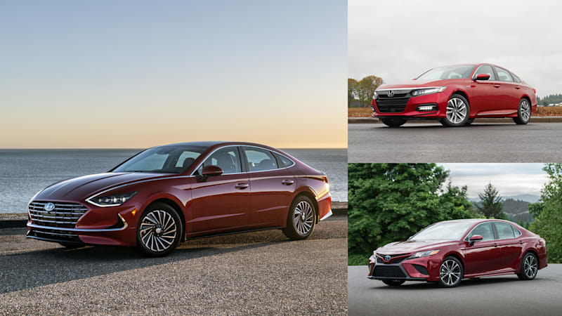 2020 Hyundai Sonata Hybrid vs Accord and Camry | How they compare on paper
