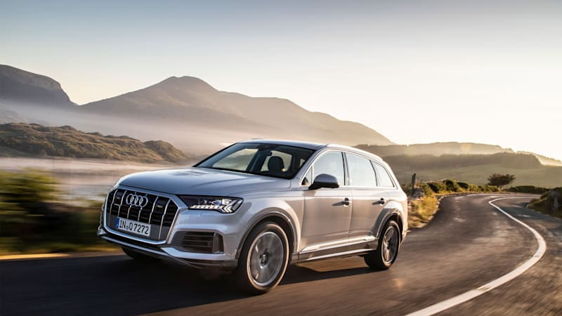 2020 Audi Q7 45 TFSI SUV's entry-level model pricing announced