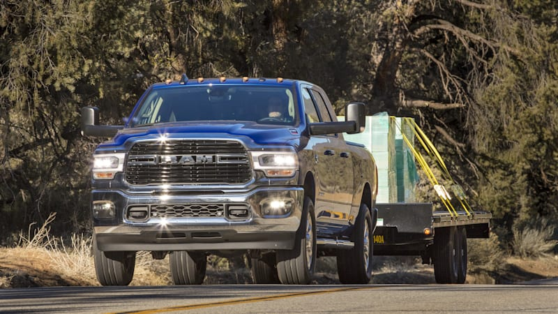 FCA recalls 2019-2020 Ram 2500 and 3500 due to transmission fluid leak